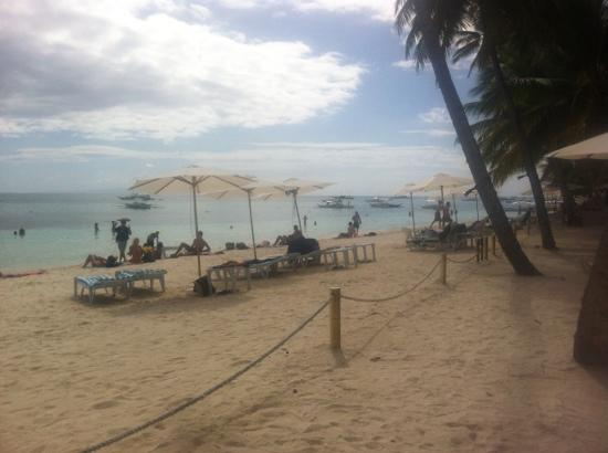 Henann Resort, Alona Beach: beachfront