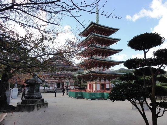 Onomichi, Japan: Pagoda