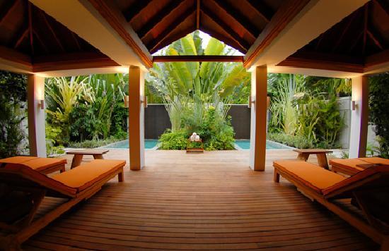Anantara Veli Maldives Resort: Garden Spa Relaxing Area