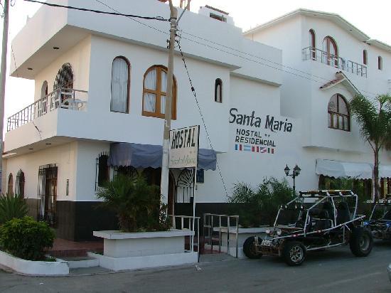 Hostel Santa Maria: hôtel principal