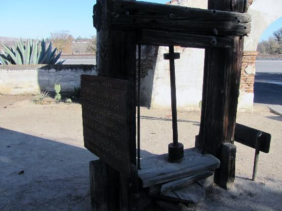 San Miguel, CA: olive press