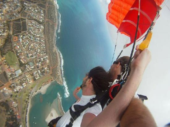 Skydive Kalbarri: Amazing views