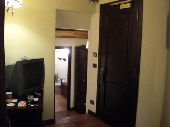 UNA Palazzo Mannaioni: vista dal letto