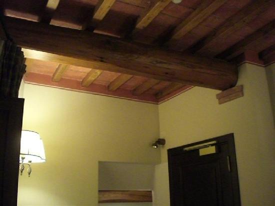 UNA Palazzo Mannaioni: particolare del soffitto