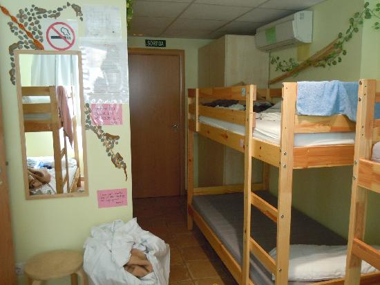 Backpackers BCN Casanova: Extremely cramped room!