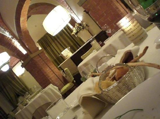 UNA Palazzo Mannaioni : la sala da pranzo