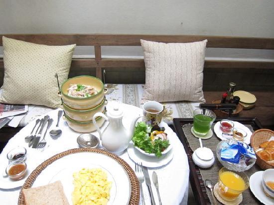 The Bhuthorn: Petit déjeuner