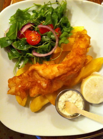 The Fleece at Cirencester: Fish & Chip