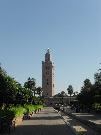 Club Albatros: koutoubia mosque