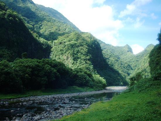 Le Belvedere: Chemin d'accès