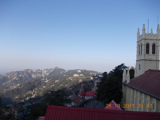 Hotel Mayur: view from the room