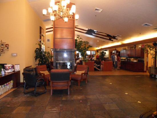 Desert Rose Resort : Lobby/Breakfast area