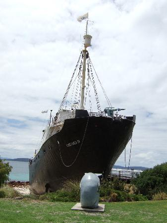 Albany's Historic Whaling Station: The whaling ship