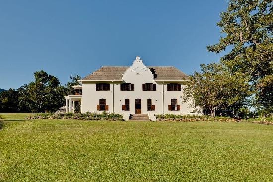 Dornier Homestead Private Villa in Stellenbosch