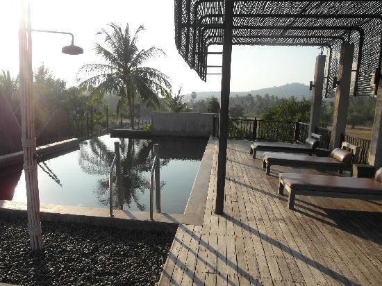La a natu Bed & Bakery: Rooftop chocolate pool