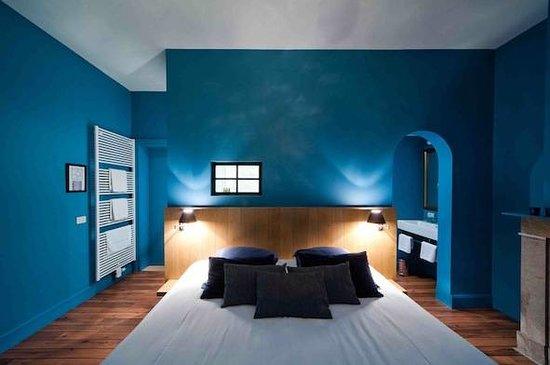"""Charming Brugge: comfort room """"Le Bleu de Bruges"""""""