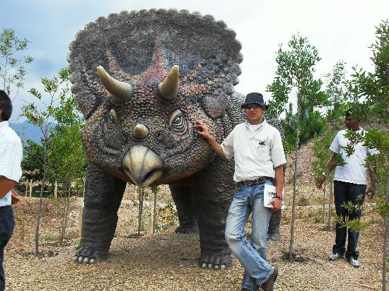 Villa de Leyva, Colombia: Parque Tematico Gondava, El Gran Valle de los Dinosaurios