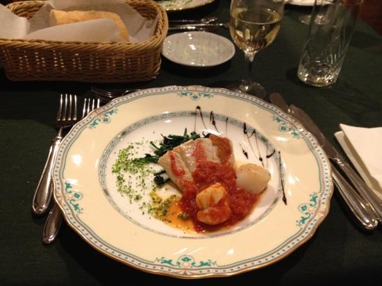 Hotel Chobosanso : 夕食2