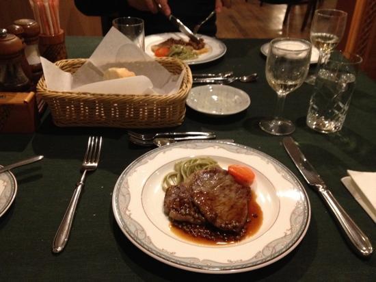 Hotel Chobosanso : 夕食3