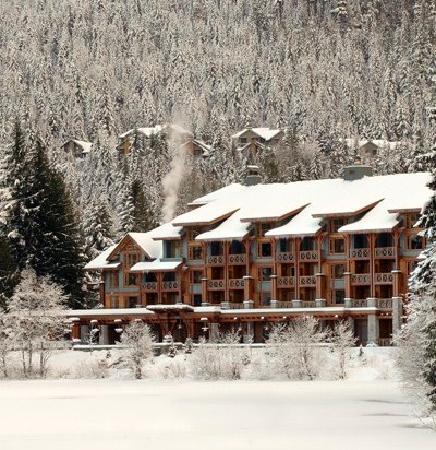 Nita Lake Lodge: Winter Wonderland