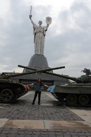 Rodina Mat (Motherland): Metal Traveller bei Rodina Mat