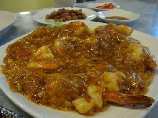 Singapore Chili Prawns Recipe — Dishmaps