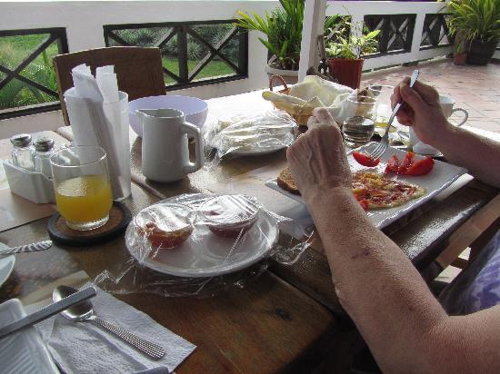 Las Tablas, Panama : Breakfast