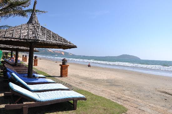 Pandanus Resort: Pandanus beach side