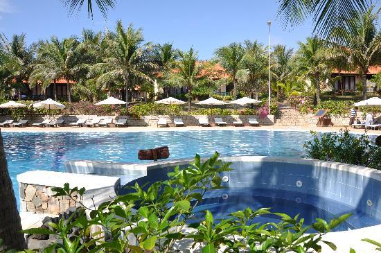 Pandanus Resort: Pandanus open air jacuzzi
