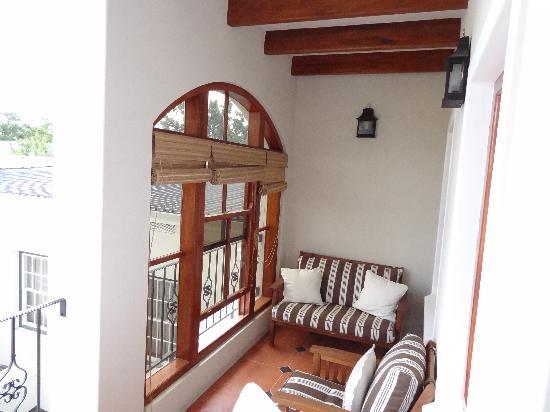 Coopmanhuijs Boutique Hotel & Spa: Balkon