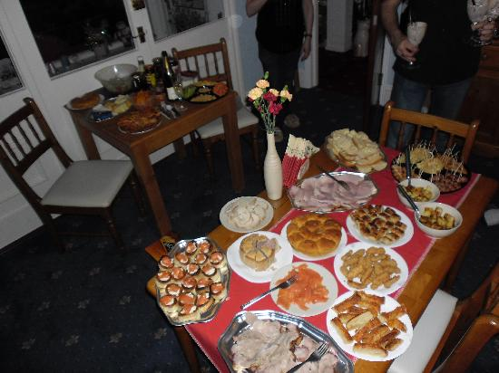 Kilbrannan Guest House: The boxing day feast, simply delicious