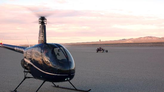 Jerry Trimble Helicopters: Desert Flying