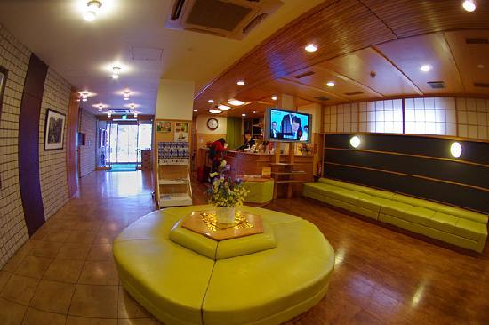 Wakkanai Grand Hotel : Hotel Lobby