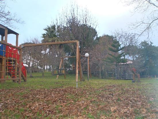 Linguaglossa, Italien: Il parco giochi .