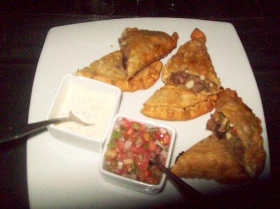 Guayoyo Cafe : las empanaditas