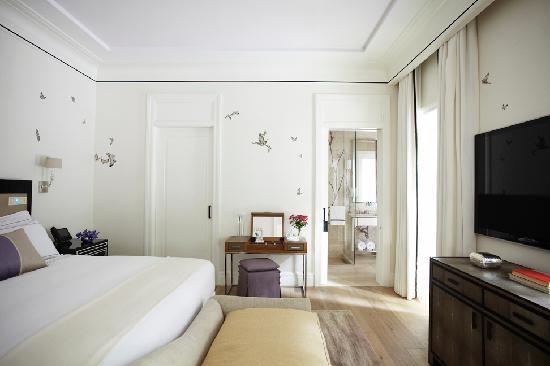 Hotel Bel Air: Swan Lake Suite Bedroom