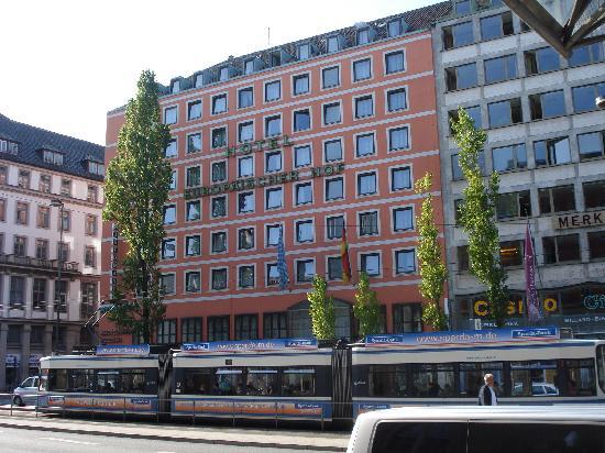 hotel europaischer hof munich germany hotel reviews. Black Bedroom Furniture Sets. Home Design Ideas