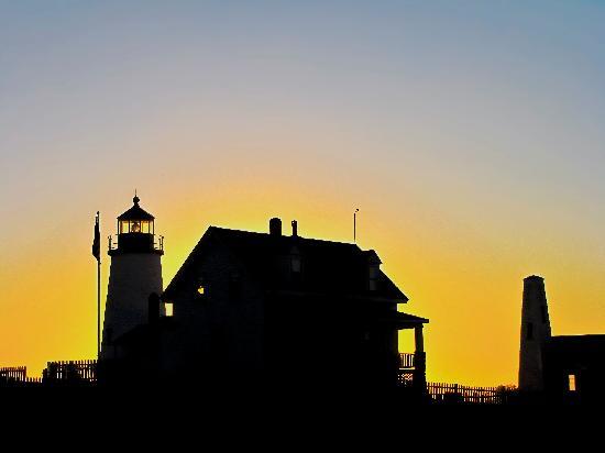 Pemaquid Point Lighthouse: Dawn Silhoutte