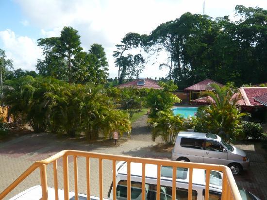 Kekemba Resort Paramaribo : Resort view from the balcony of the receptiont