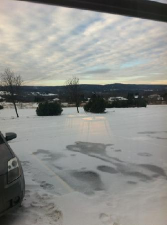 Days Inn Edmundston : The view from our room.