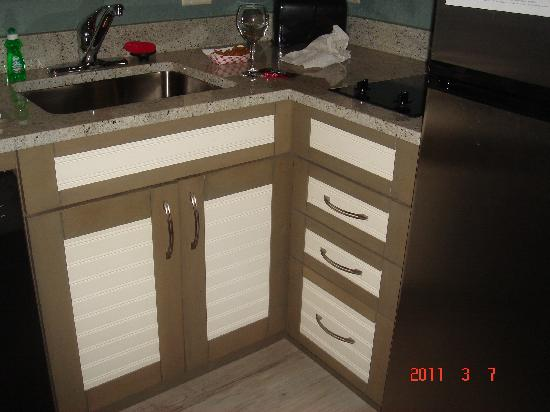 Residence Inn Portsmouth Downtown/Waterfront: Kitchen cabinets