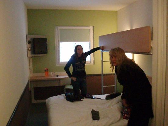 The 2 Beds Picture Of Ibis Budget Amsterdam Airport Badhoevedorp
