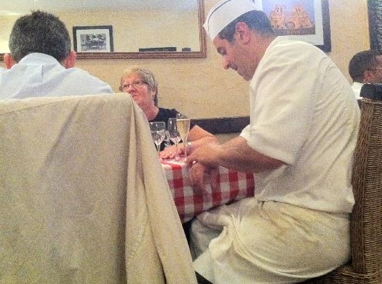 Le Manege De L'ecuyer : The chef