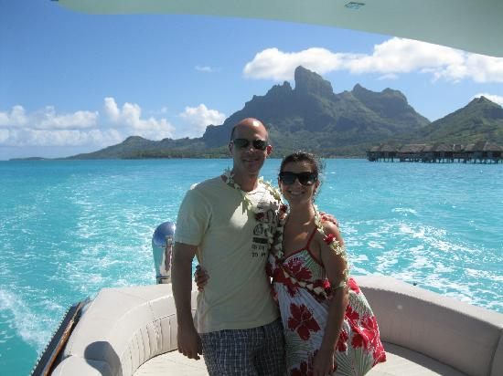 Four Seasons Resort Bora Bora: Boat Ride from airport to Resort