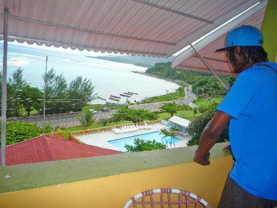 Casa Maria Hotel: Balcony view (rm 25)