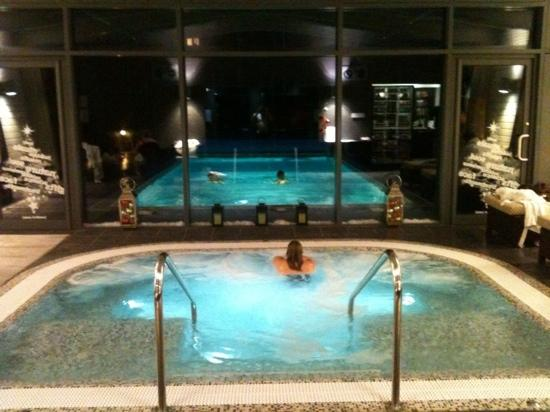 Homewood Park Hotel & Spa: mega chilled in spa!