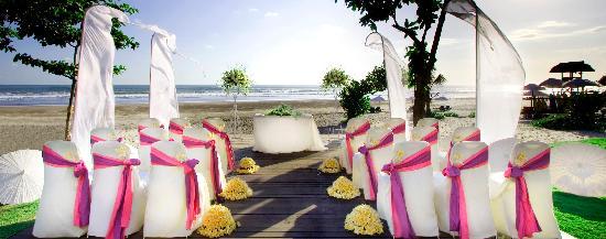 Anantara Seminyak Bali Resort: Wedding set-up