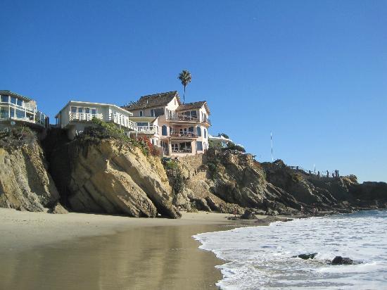 Laguna Beach Inn: Woods cove beach. So beautiful!
