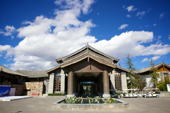 InterContinental Lijiang Ancient Town Resort: Hotel entrance