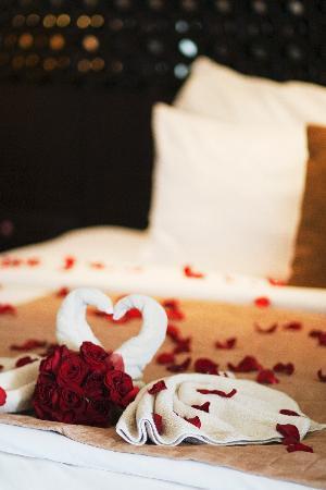 Anantara Seminyak Bali Resort: Honeymoon set-up